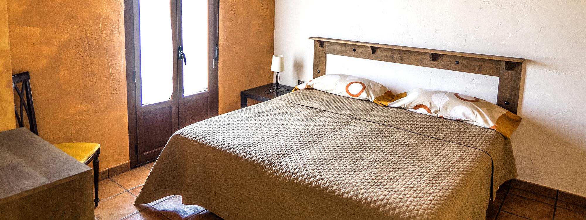 Detalle de nuestras habitaciones en casa rural Valladolid